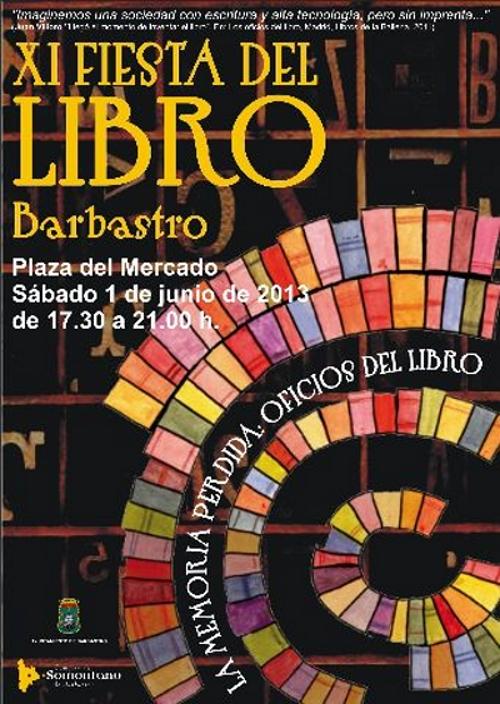 Cartel fiesta libro 2013